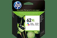 HP 62XL Tintenpatrone Cyan/Magenta/Gelb (C2P07AE)