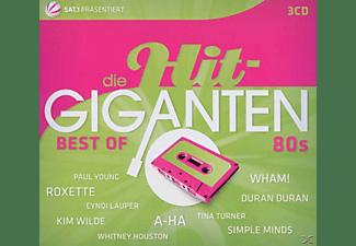 VARIOUS - Die Hit Giganten-Best Of 80's  - (CD)