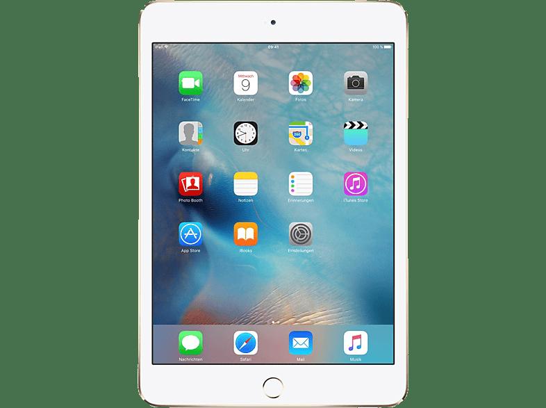Apple Ipad Mini 4 Wi Fi Tablet 64 Gb 7 9 Zoll Gold Mediamarkt