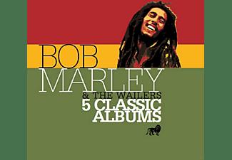 Bob Marley & The Wailers - 5 Classic Albums  - (CD)