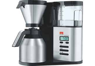 MELITTA 1012-06 Aroma Elegance Therm DeLuxe Filterkaffeemaschine  Schwarz/Edelstahl