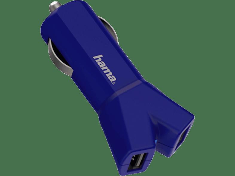 HAMA Color Line Kfz-Ladeadapter, Blau