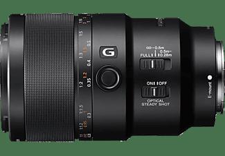 SONY SEL90M28G Vollformat - 90 mm f/2.8 G-Lens, OSS, FHB, IF, FRL, DMR, Circulare Blende (Objektiv für Sony E-Mount, Schwarz)
