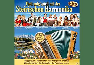 VARIOUS - Flott Aufg'spielt Mit Der Steirischen Harmonika  - (CD)