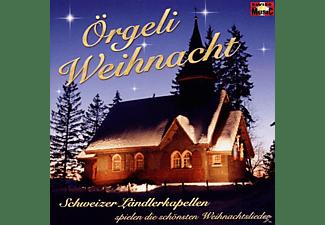 Schweizer Ländlerkapellen Spie - Die Schönsten Weihnachtslieder Örg  - (CD)