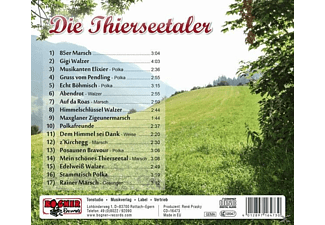 Thierseetaler - Musikanten Elixier  - (CD)