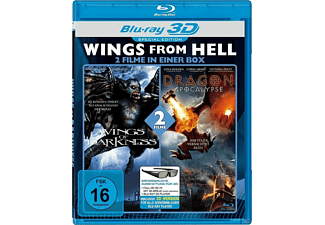 Wings From Hell 3D: Wings Of Darkness / Dragon Apocalypse 3D Blu-ray