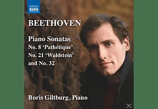 Boris Giltburg - Klaviersonaten 8, 21 Und 32  - (CD)