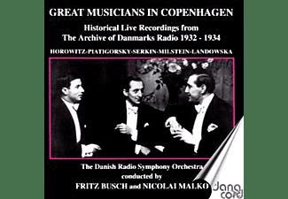 Fritz Busch, Nikolai Malko - Grosse Musiker In Kopenhagen  - (CD)