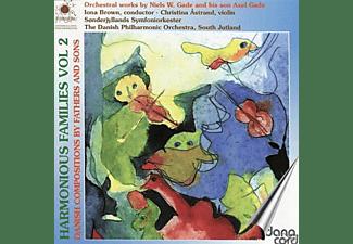 The Danish Philharmonic Orchestra, Christina Astrand, Sonderjyllands Symfoniorkester - Harmonious Families vol.2  - (CD)
