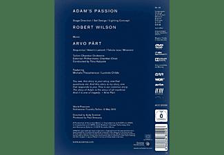 Michalis Theophanous, Lucinda Childs, Talin Chamber Orchestra, Estoian Philharmonic Chamber Choir - Adam's Passion  - (DVD)