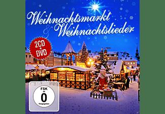 VARIOUS - Weihnachtsmarkt & Weihnachtsli  - (CD + DVD Video)