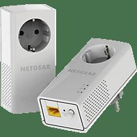 NETGEAR Powerline 1200 Kit mit Steckdose (PLP1200-100PES) Powerline Adapter