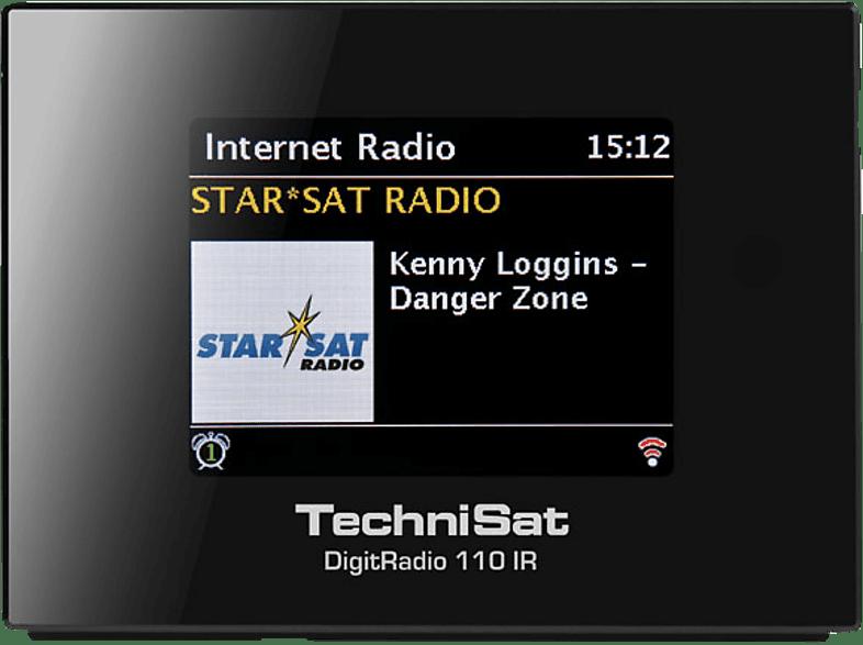 TECHNISAT DIGITRADIO 110 IR Internetradio (UKW, DAB, DAB+, Internet, Schwarz)