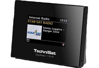 TECHNISAT DIGITRADIO 110 IR Internetradio, Digital, DAB+, DAB, Schwarz