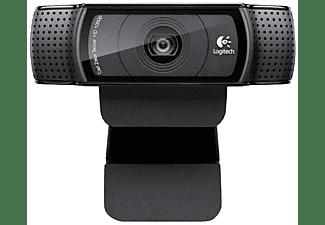 Webcam Full HD - Logitech C920, 1080p, negro