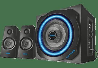 TRUST Trust GXT 628 2.1 Gaming Lautsprecher Set mit LED Beleuchtung Lautsprecher