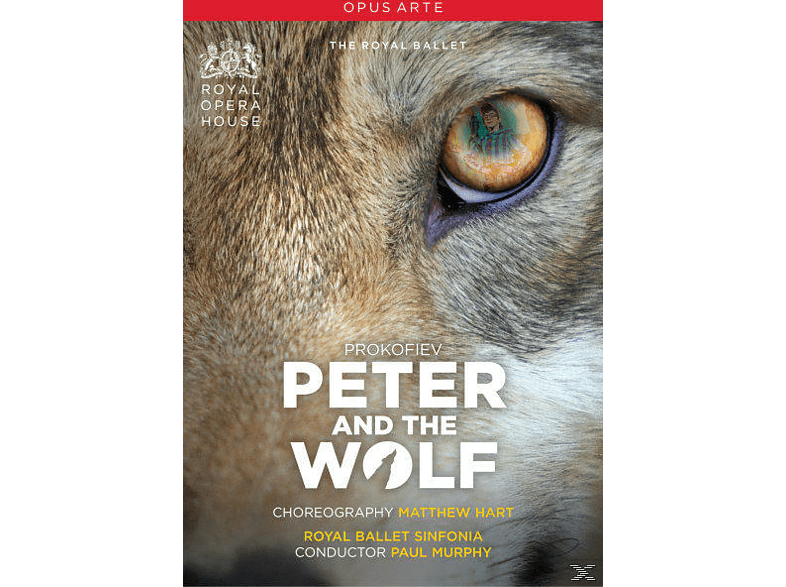 Paul / Royal Ballet Sinfonia Murphy - Peter And The Wolf [DVD]