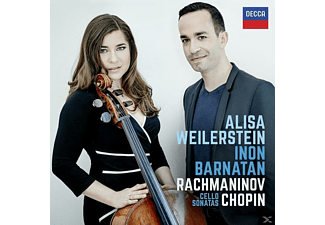 Inon Barnatan, Alisa Weilerstein - Rachmaninov Chopin Cello Sonatas  - (CD)