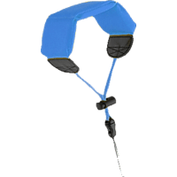 S+M Schwimm /Handgurt für ACTIONCAMS, Schwimmtragegurt, Blau, passend für GoPro im Standardgehäuse (M40)