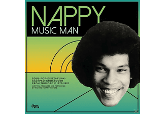 VARIOUS - Nappy-Music Man-Funk, Disco & Calypso  - (Vinyl)