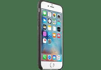 APPLE iPhone 6s Leder Case, Backcover, Apple, iPhone 6s, Schwarz