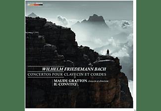 Maude Gratton, Il Convito - Konzerte Für Cembalo & Streicher  - (CD)
