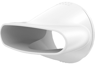 BRAUN Satin Hair 3 HD 385 mit IONTEC Haartrockner Weiß (2000 Watt)