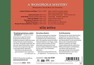 Stile Antico, VARIOUS - A Wondrous Mystery  - (SACD Hybrid)