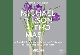 Michael/boston Symphony Orchestra Tilson Thomas - Le Roi Des Etoiles/Le Sacre Du Printemps  - (SACD)