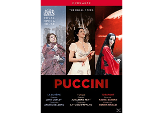 VARIOUS, Royal Opera Chorus, Orchestra Of The Royal Opera House - La Boheme/Tosca/Turandot  - (DVD)