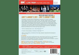 Love's Labour's Lost/Love's Labour's Won DVD