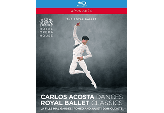 Various Composers, VARIOUS - La Fille Mal Gardee/Romeo & Juliet/Don Quixote  - (Blu-ray)