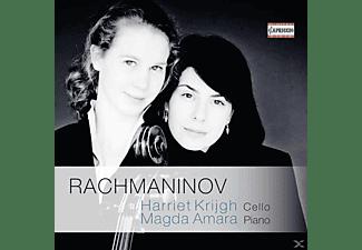 Krijgh Harriet/Amara - Cellosonate Op.19/Elegie/Vocalise/Romanze Op.4  - (CD)