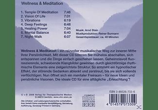 Stein Arnd - Wellness & Meditation  - (CD)