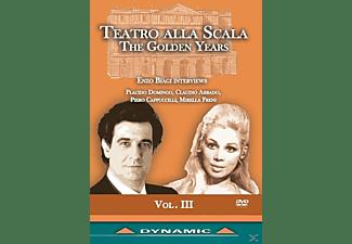 VARIOUS - Teatro Alla Scala: The Golden Years  - (DVD)