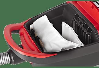 FAKIR Red Vac Staubsauger, maximale Leistung: 700 Watt, Rot/Schwarz)