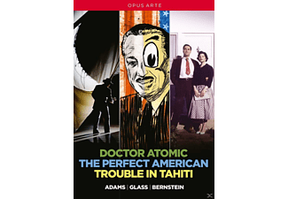 Netherlands Philharmonia Orchestra, Coro Y Orchestra Del Teatro Real, City Of London Sinfonia, VARIOUS - Doctor Atomic/The Perfect American/Trouble In Tahi  - (DVD)