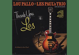 Lou Pallo Of Les Paul's Trio, VARIOUS - Thank You Les - A Tribute To Les Paul  - (Vinyl)