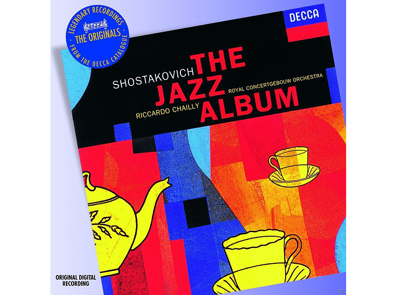Riccardo Chailly, Ronald Brautigam, Royal Concertgebouw Orchestra, Peter Masseurs - The Jazz Album [CD]