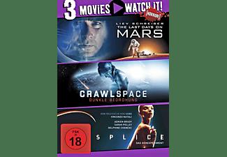 3er Collection: Last Days on Mars + Crawlspace + Splice DVD