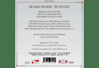 Chor U.Orch.D.Stuttg.Rundfunk - Der Freischütz (Ga)  - (CD)
