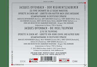 Anneliese Rothenberger, Willy Hofman, Gisela Litz, Kurt Marschner, Ilse Hübener, Horst Gunter, Chor & Orchester Des Hamburger Rundfunks - Der Regimentszauberer / Die Insel Tulipatan  - (CD)