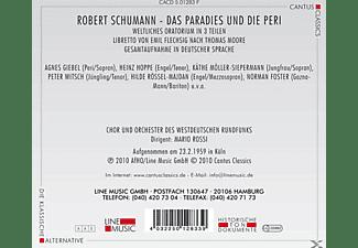 Chor & Orch.Des Westdeutschen Rundfunks - Das Paradies Und Die Peri  - (CD)