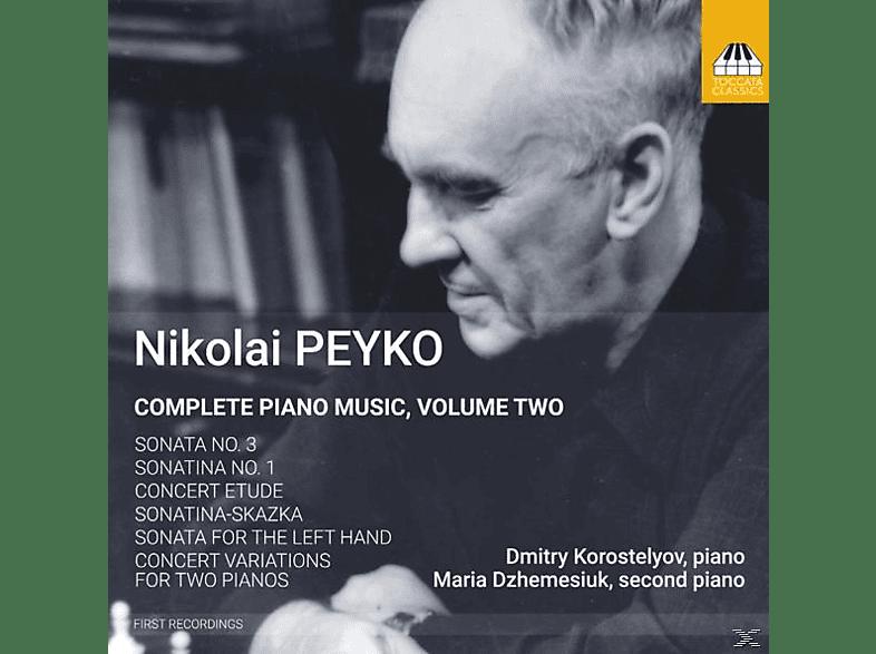 Korostelyov,Dmitry/Dzhemesiuk,Maria - Klaviermusik Vol.2 [CD]