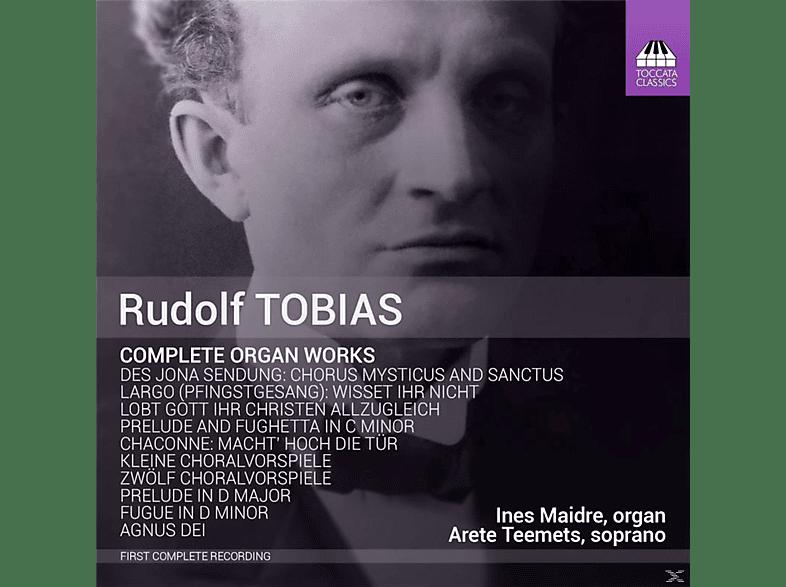 Maidre,Ines/Teemets,Arete - Sämtliche Orgelwerke [CD]