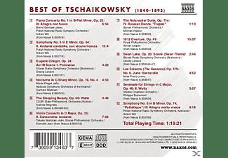 VARIOUS - Best Of Tschaikowsky  - (CD)
