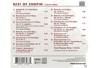 VARIOUS - Best Of Chopin  - (CD)