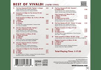 VARIOUS - Best Of Vivaldi  - (CD)