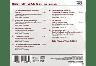 VARIOUS - Best Of Wagner  - (CD)